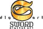 Sword Digital Art Logo - a corporate branding, SEO web design and 3D modeling company. Mossel Bay, South Africa