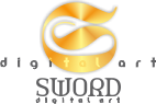 Sword Digital Art Logo - a corporate branding, SEO web design and 3D modeling company. Mossel Bay, South Africa