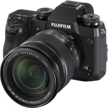 The Fujifilm X-H1, DSLR camera
