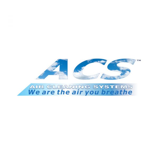 Air filtration logo designed for dust control company. Sword Digital Art, SA